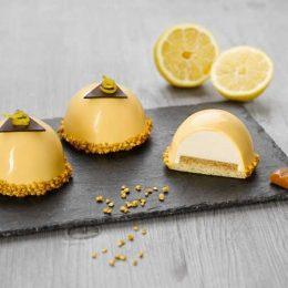 Recette de dôme citron caramel - Condifa