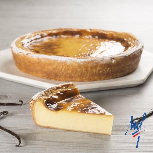 Recette de flan pâtissier à la gousse de vanille ancel par Stéphane Glacier - Condifa