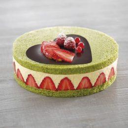 Recette de fraisier vanille pistache - Condifa