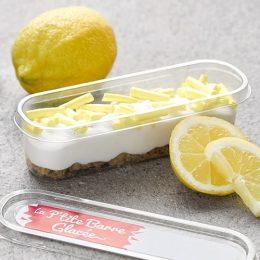 Recette de p'tites barres glacées façon tartelettes citron cresco - Condifa