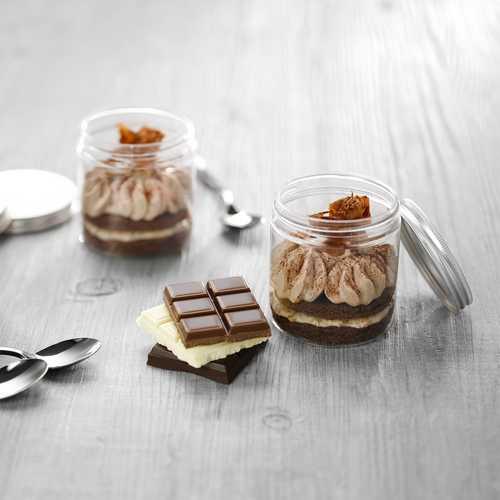 Recette de p'tits pots façon 3 chocolats - Condifa