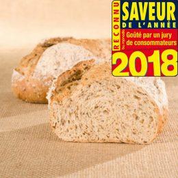Recette de pain aux graines de lin à base de farine élaborée vitalis Agrano - Condifa