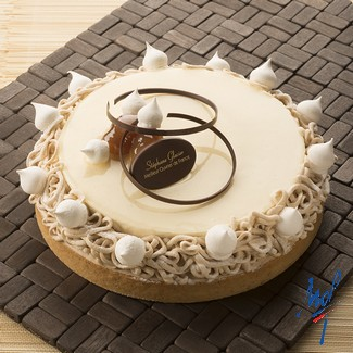 Recette de tarte Mont-Blanc amandes marrons - Condifa