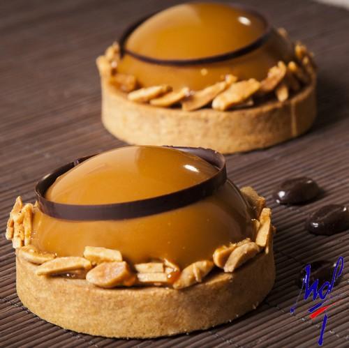 Recette de tartelettes café pur arabica amandes - Condifa
