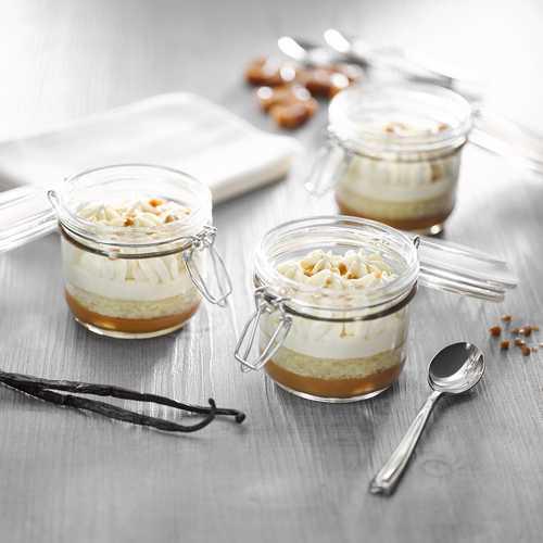 Recette de verrines façon crème brulée - Condifa