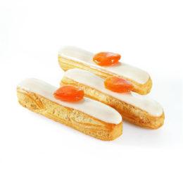 Recette éclair vanille abricot - Condifa