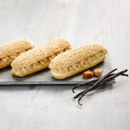 Recette éclairs vanille caramel ancel - Condifa