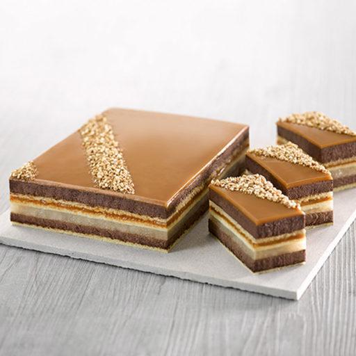 Recette entremets chocolat poire caramel - Condifa
