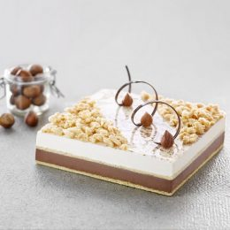Recette entremets glacés caco noisette du Piémont - Condifa