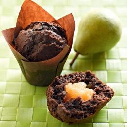 Recette de muffins poire chocolat - Condifa