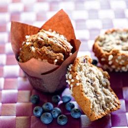 Recette de muffins myrtille - Condifa