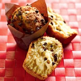 Recette de muffins pépites de chocolat - Condifa