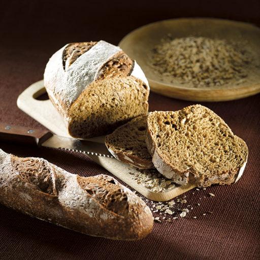 Recette de pain au malt graines de tourneols lin sésame Agrano - Condifa