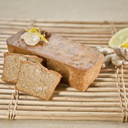 Recette de pain d'épices citron-gimgembre confits