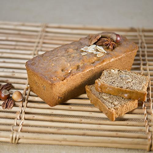 Recette pain d'épices noisettes