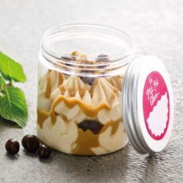 Recette de p'tits pots glacés cacahuète caramel - Condifa