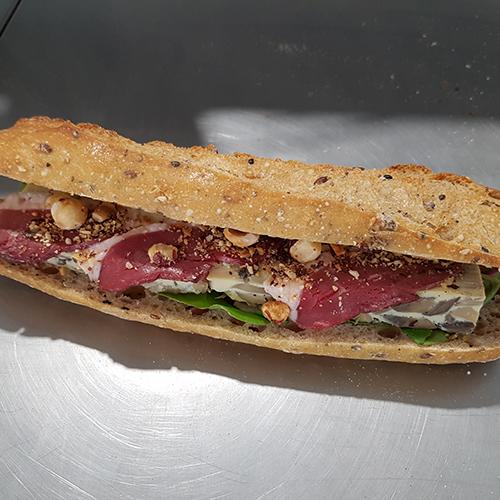 Recette de sandwich le dombiste Agrano par François Pozzoli - Condifa