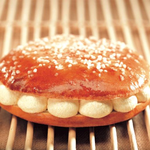 Recette de tarte tropézienne vanille Tahitensis - Condifa