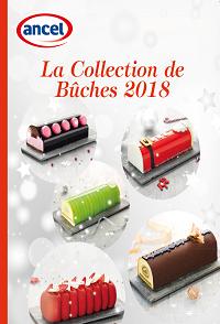 la collection de Bûches 2018 ancel - condifa
