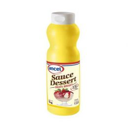 Sauce dessert fruits rouges ancel - Condifa